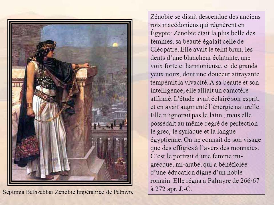 Une fois arrivée en Syrie, Jane projeta de visiter Baalbeck, Jérusalem et Palmyre.