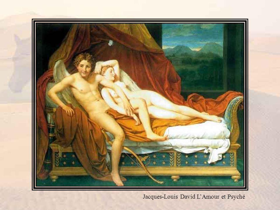 Jacques-Louis David LAmour et Psyché