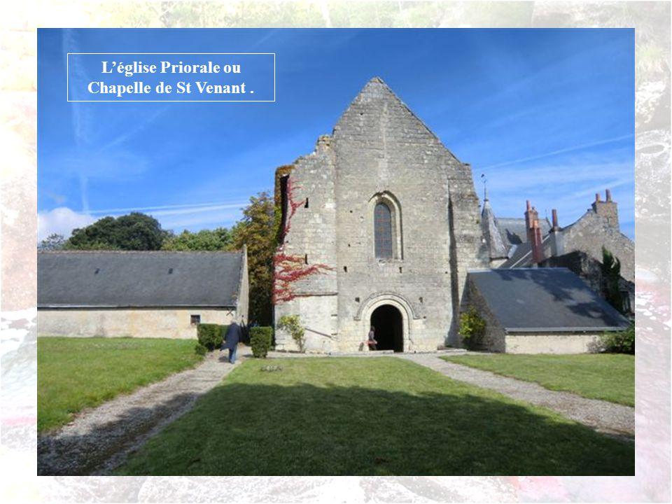 Léglise Priorale ou Chapelle de St Venant.