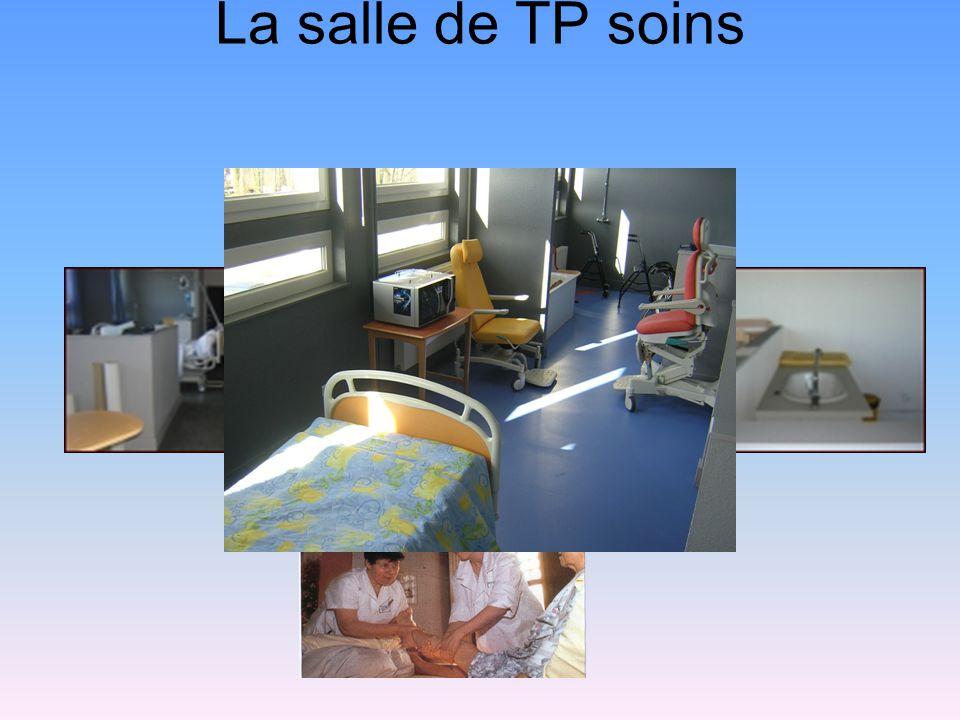 La salle de TP soins