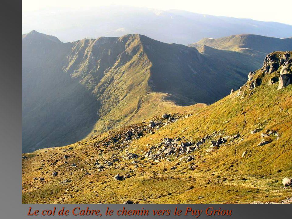 Le col de Cabre, le chemin vers le Puy Griou