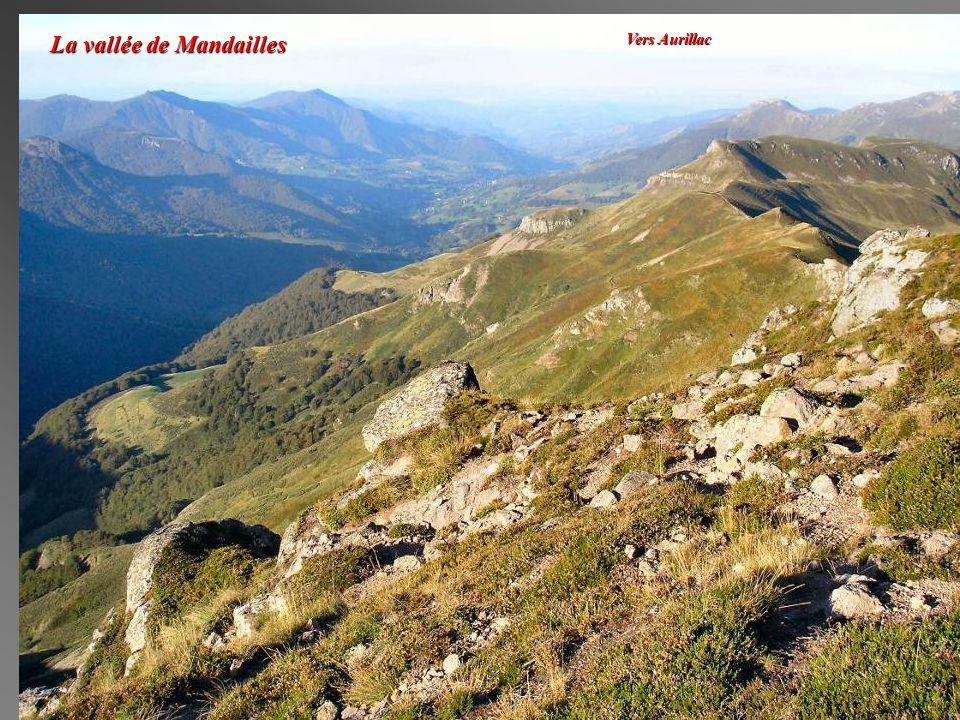 La vallée de Mandailles Vers Aurillac