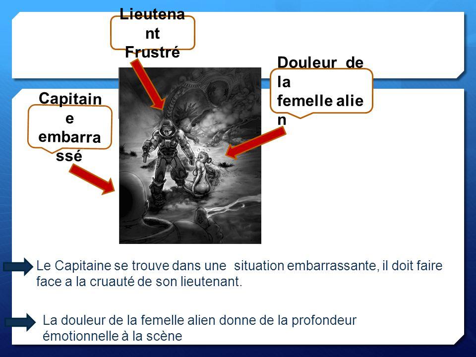 Capitain e embarra ssé Lieutena nt Frustré Le Capitaine se trouve dans une situation embarrassante, il doit faire face a la cruauté de son lieutenant.