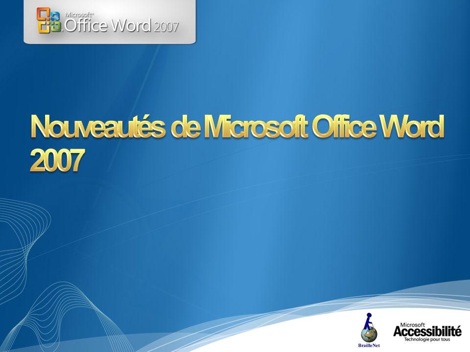 Formats binaires Open XMLOpen XML Office 97 Formats de fichiers binaires conçus en 1994 Office 2000 Innovation Propriétés de document XML Office XP Premier format XML pour Excel Office 2003 Prise en charge de XML Office 2007 Formats Office Open XML