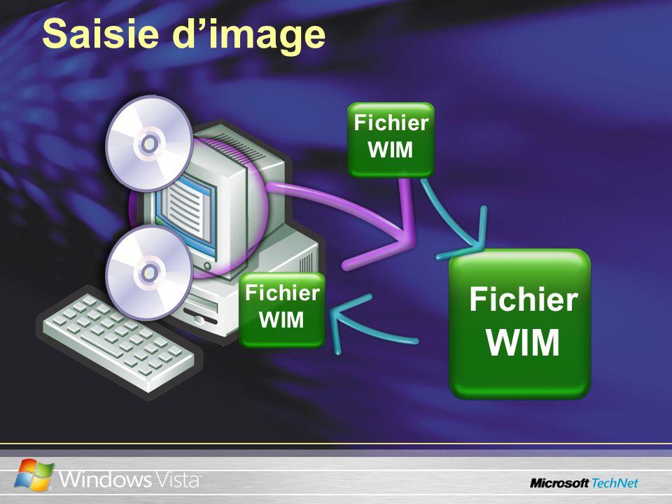 Saisie dimage Fichier WIM