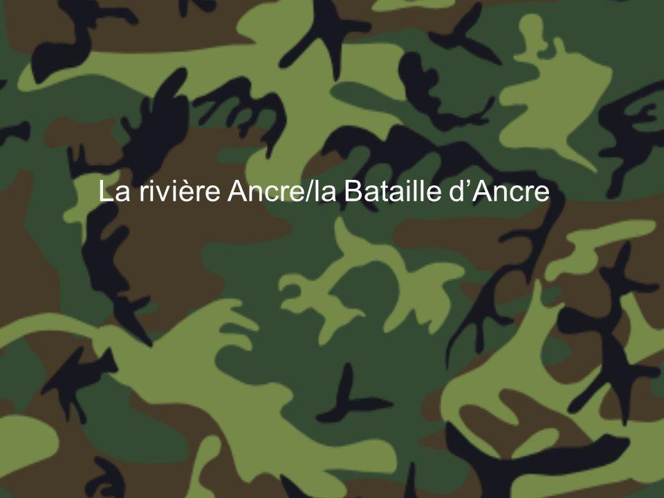 La rivière Ancre/la Bataille dAncre