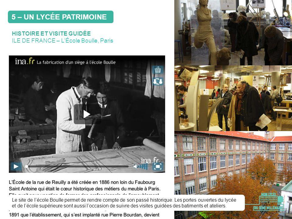 HISTOIRE ET VISITE GUIDÉE ILE DE FRANCE – LÉcole Boulle, Paris Le site de lécole Boulle permet de rendre compte de son passé historique. Les portes ou