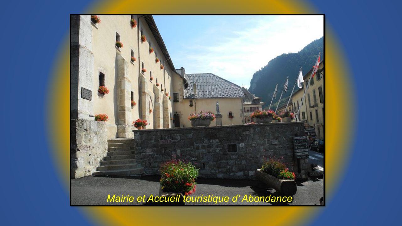 Mairie et Accueil touristique d Abondance