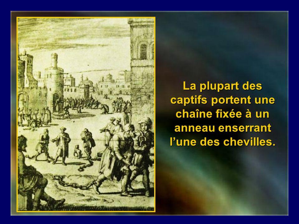 Bagne desclaves chrétiens à Alger.