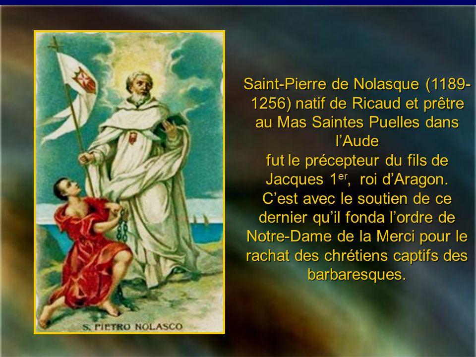 Saint Jean de Matha (1160- 1213) provençal dorigine espagnole, fondateur de lOrdre de la Sainte-Trinité et de la Rédemption des captifs, racheta des d