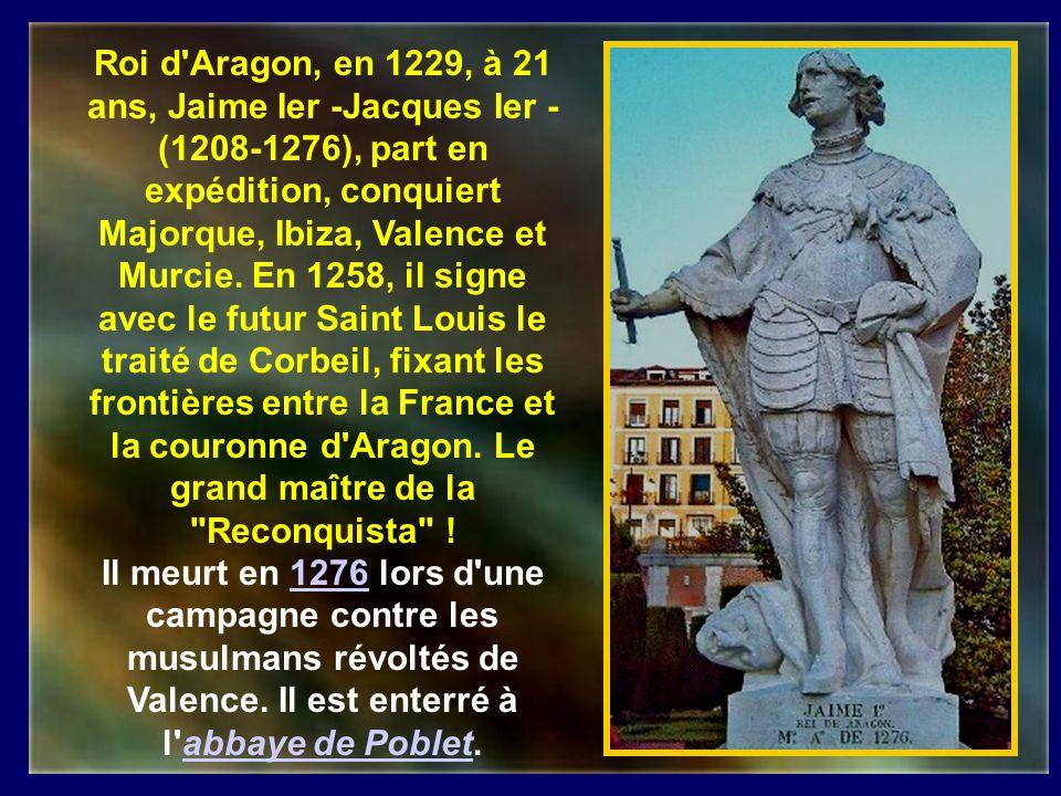 Saint-Pierre de Nolasque (1189- 1256) natif de Ricaud et prêtre au Mas Saintes Puelles dans lAude fut le précepteur du fils de Jacques 1 er, roi dArag