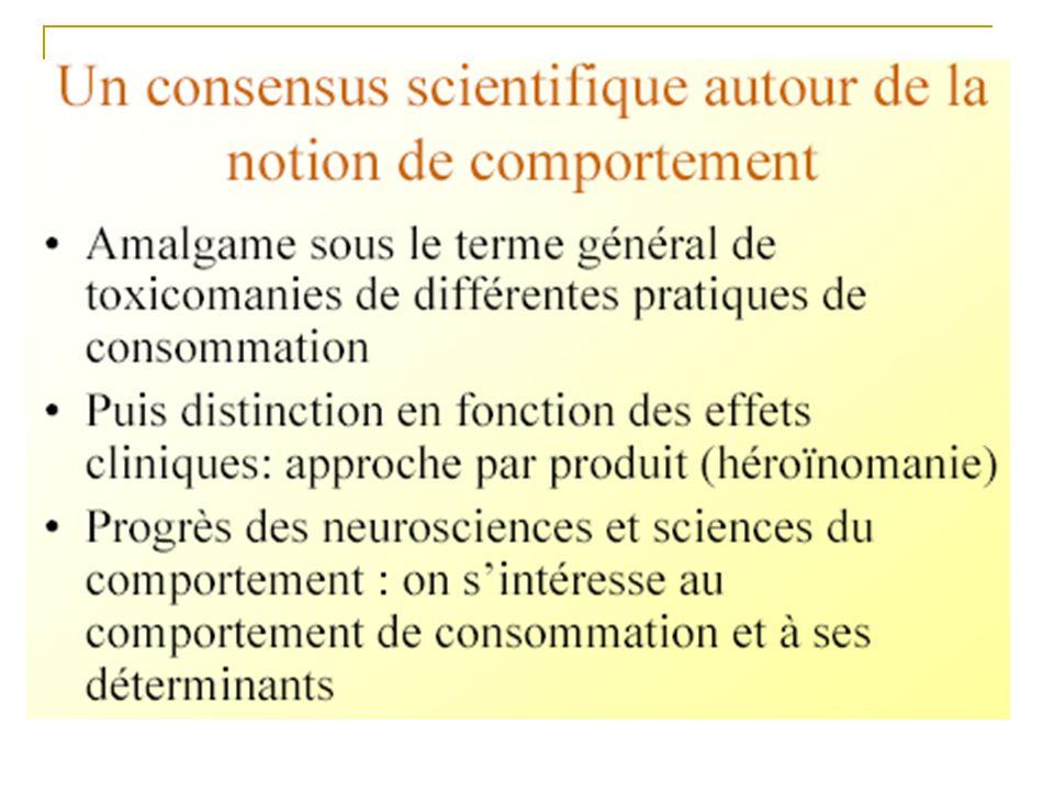 Vésicule synaptique Neurotransmetteur libéré Fixation sur un récepteur Recapture secondaire ETHANOL NICOTINE AMPHETAMINES ECSTASY (MDMA) AUGMENTATION DE LA LIBERATION Activation de la voie dopaminergique