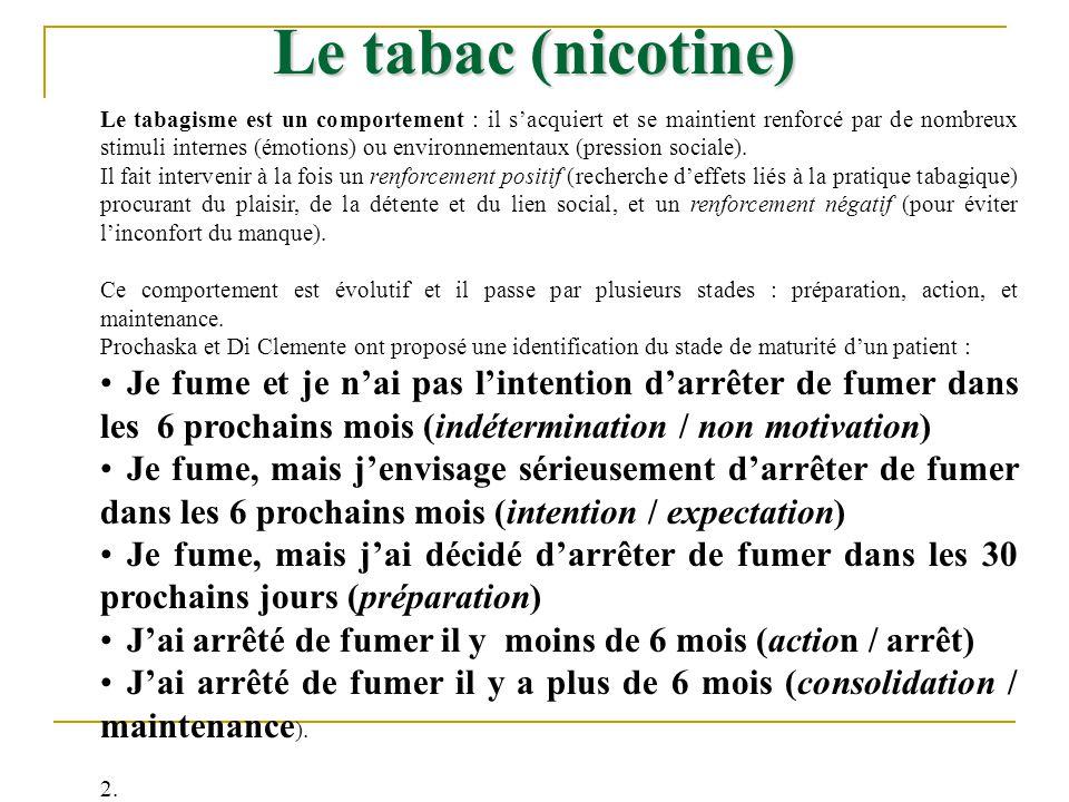 Le tabagisme est un comportement : il sacquiert et se maintient renforcé par de nombreux stimuli internes (émotions) ou environnementaux (pression soc