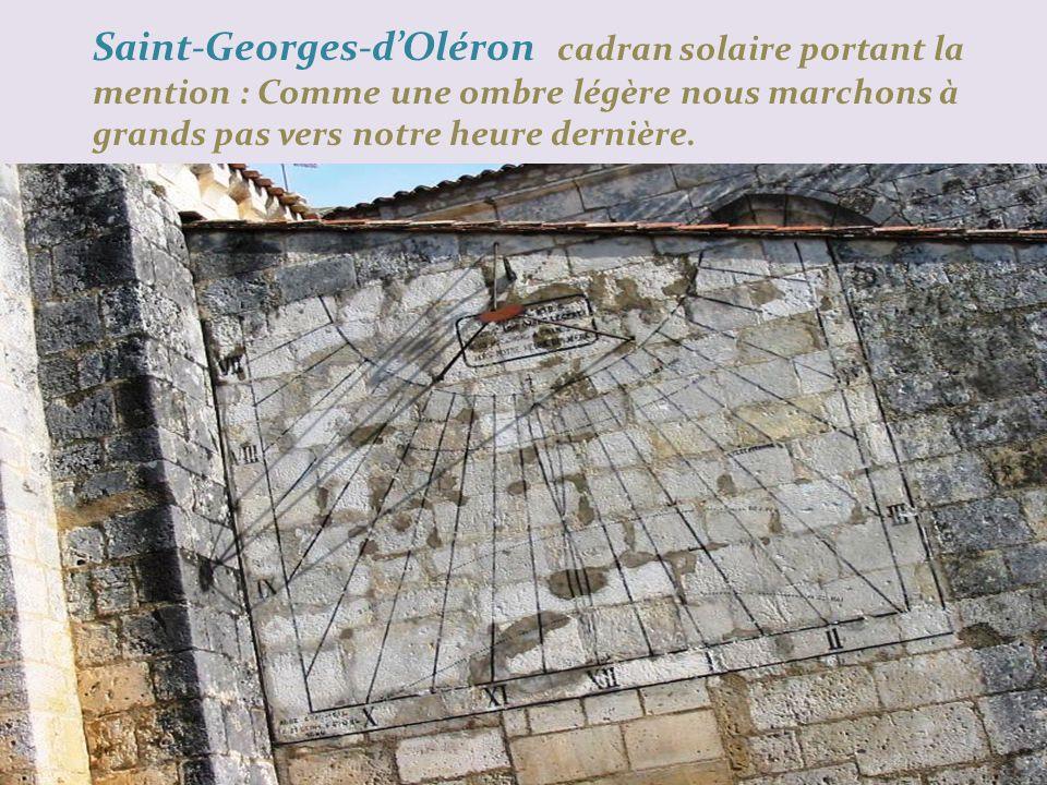Saint-Georges-dOléron église bâtie du XIe au XIIe siècle