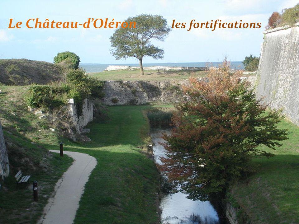 Le Château-dOléron les fortifications