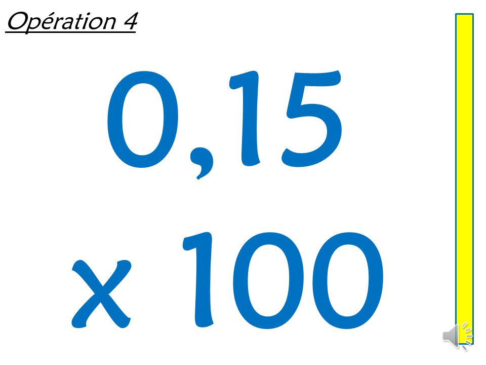 Opération 3 2,36 x 1000