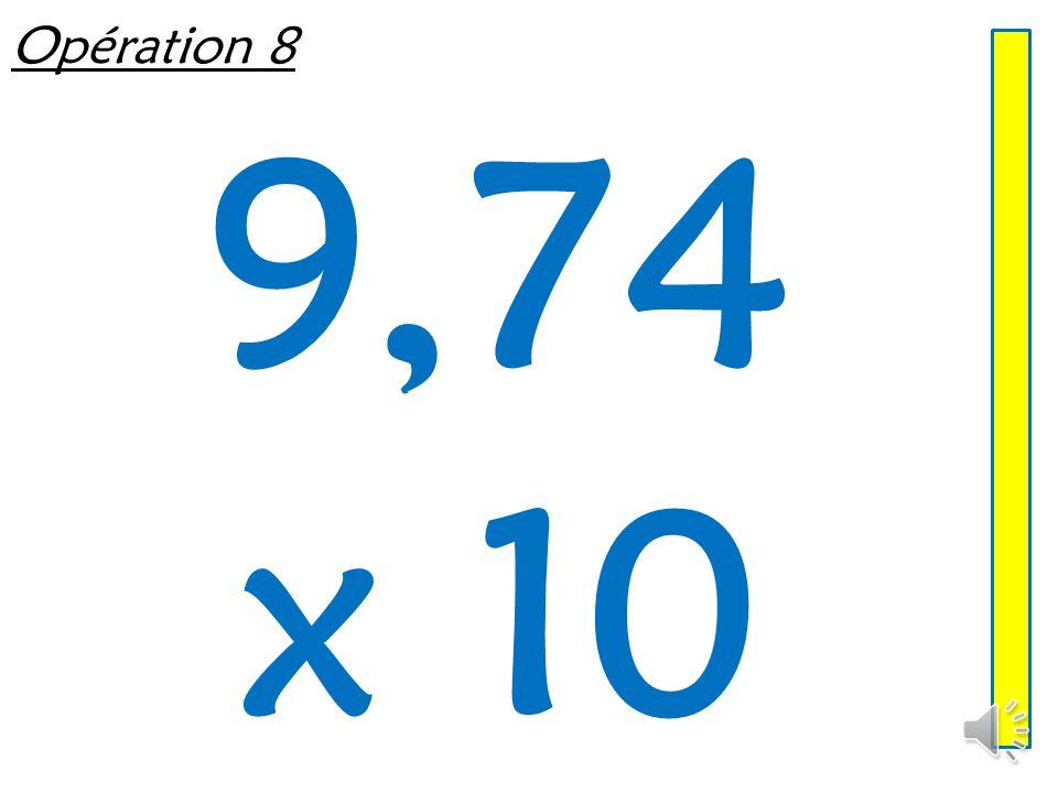 Opération 7 43,1 x 100