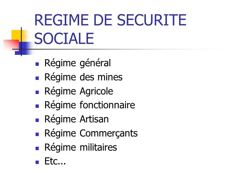 La protection sociale Concerne en France 23 Millions dactifs La protection sociale est gérée par lintermédiaire de divers régimes Dont 19 millions de