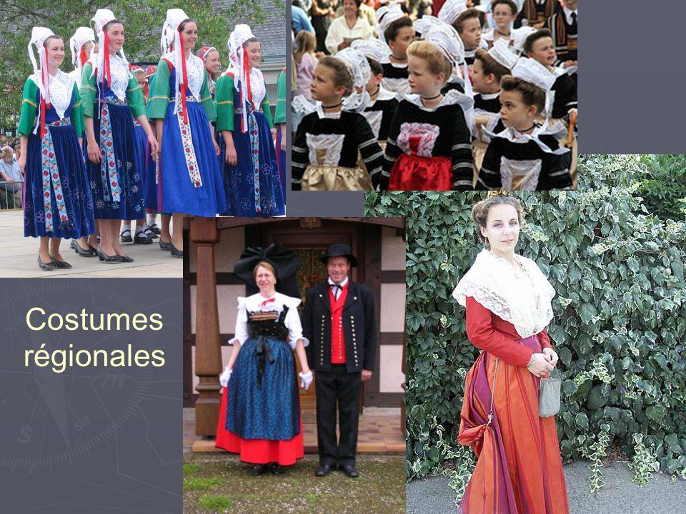 Costumes régionales