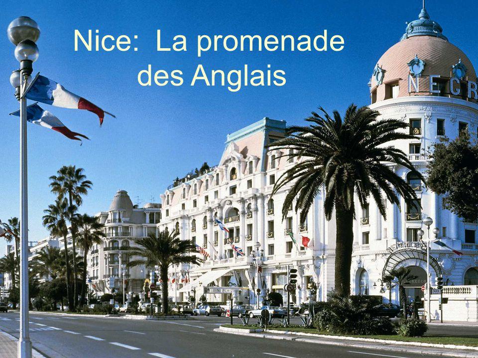 Nice: La promenade des Anglais