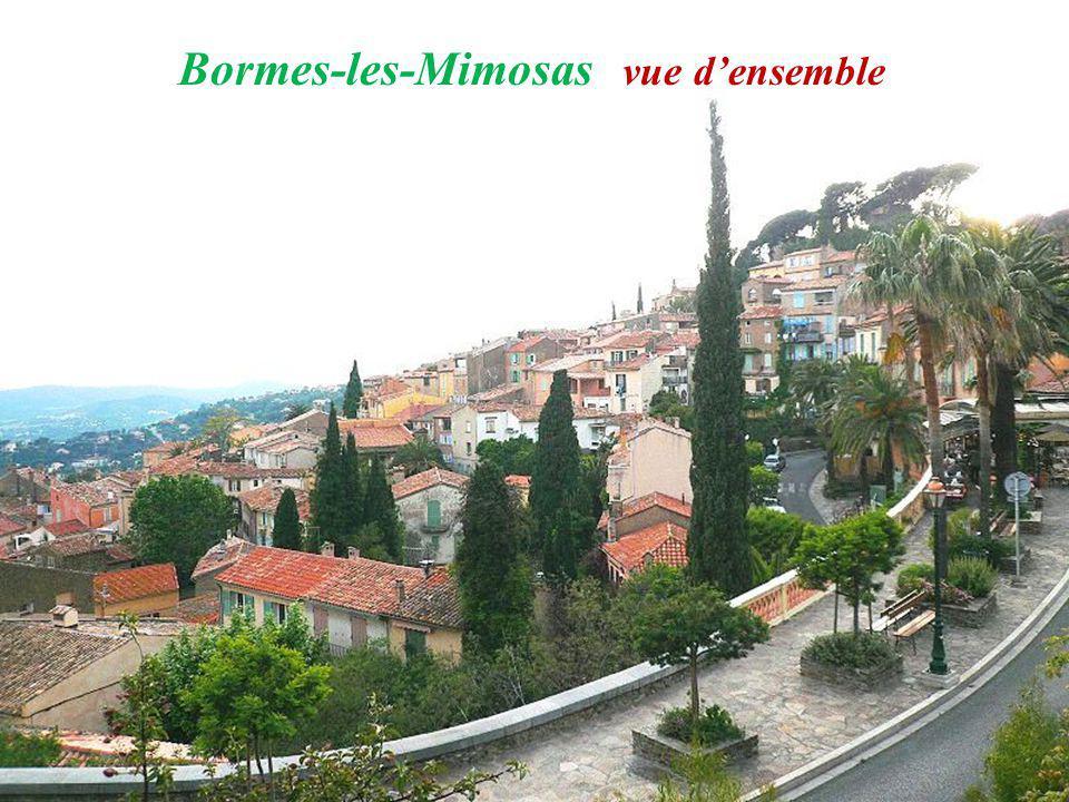 Bormes - les - Mimosas place lIsclou dAmour – la typique pierre de Bormes