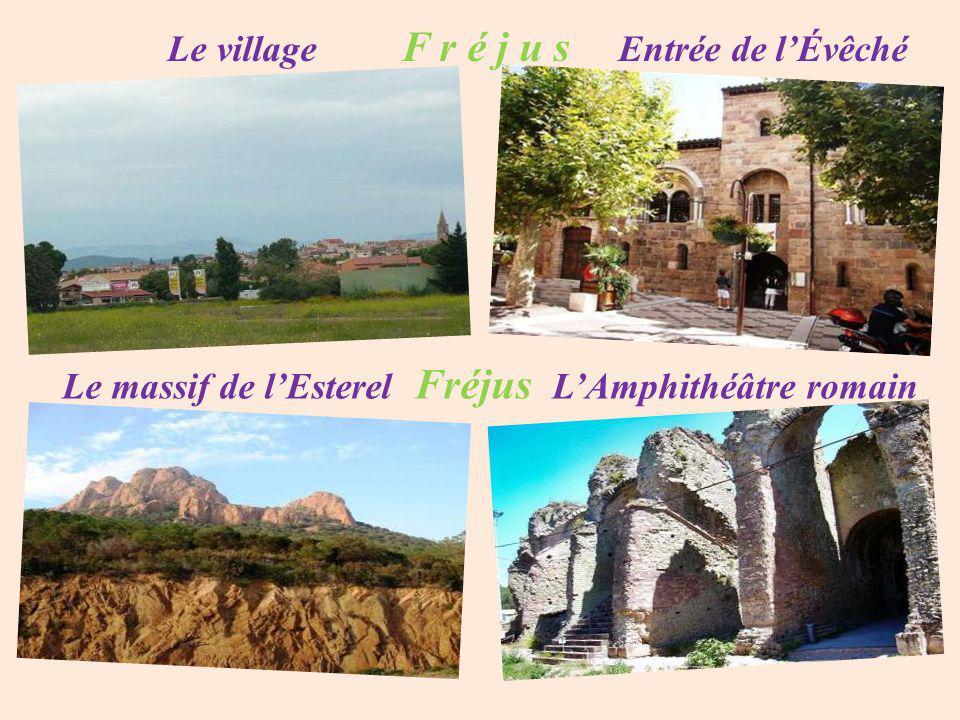 Fréjus le château Galliéni
