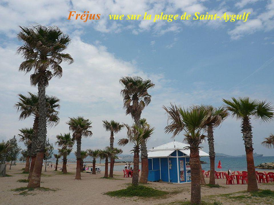 Fréjus plage de Saint-Aygulf