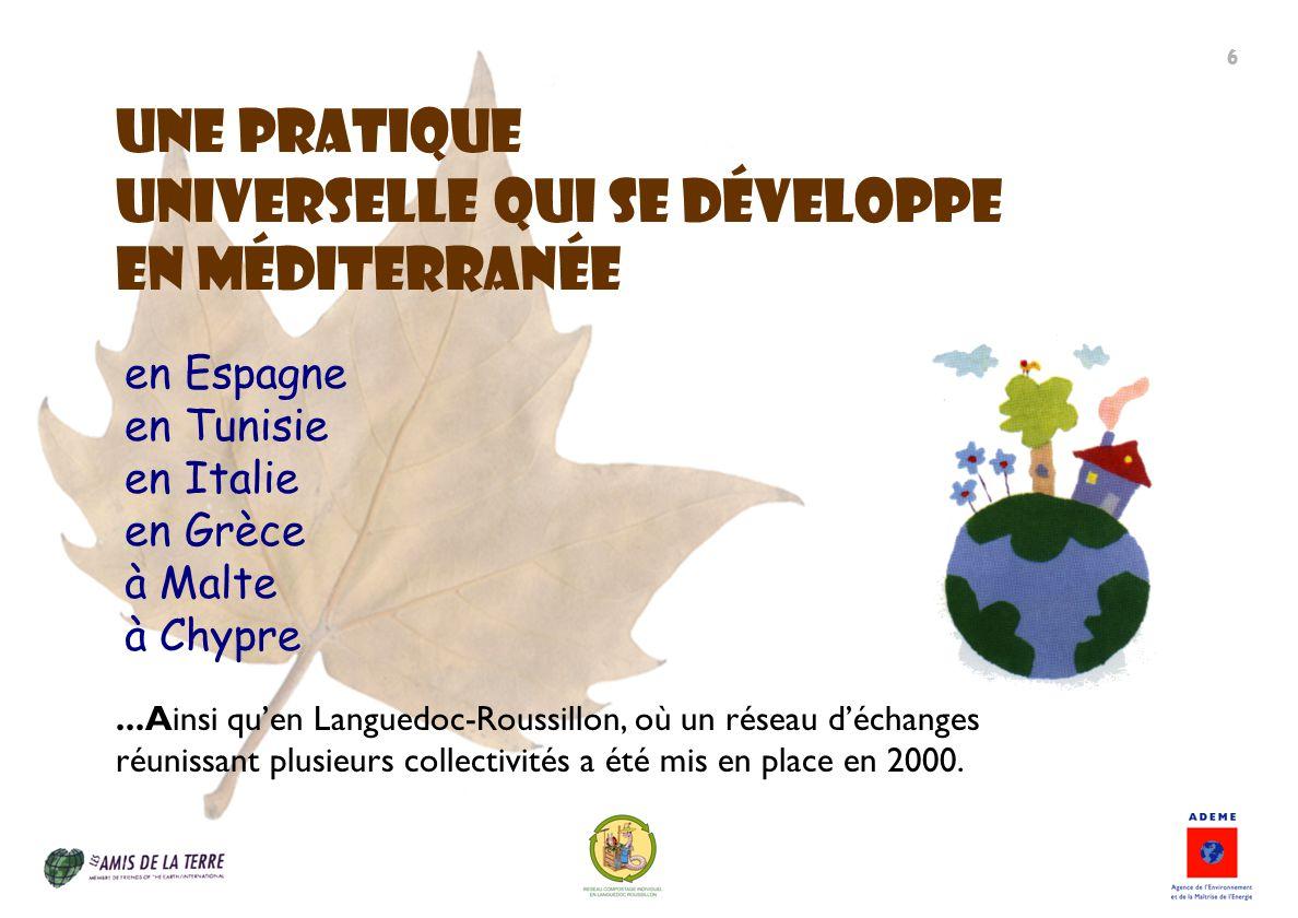 UNE PRatIQUE universelle qui se développe en méditerranée en Espagne en Tunisie en Italie en Grèce à Malte à Chypre...Ainsi quen Languedoc-Roussillon,