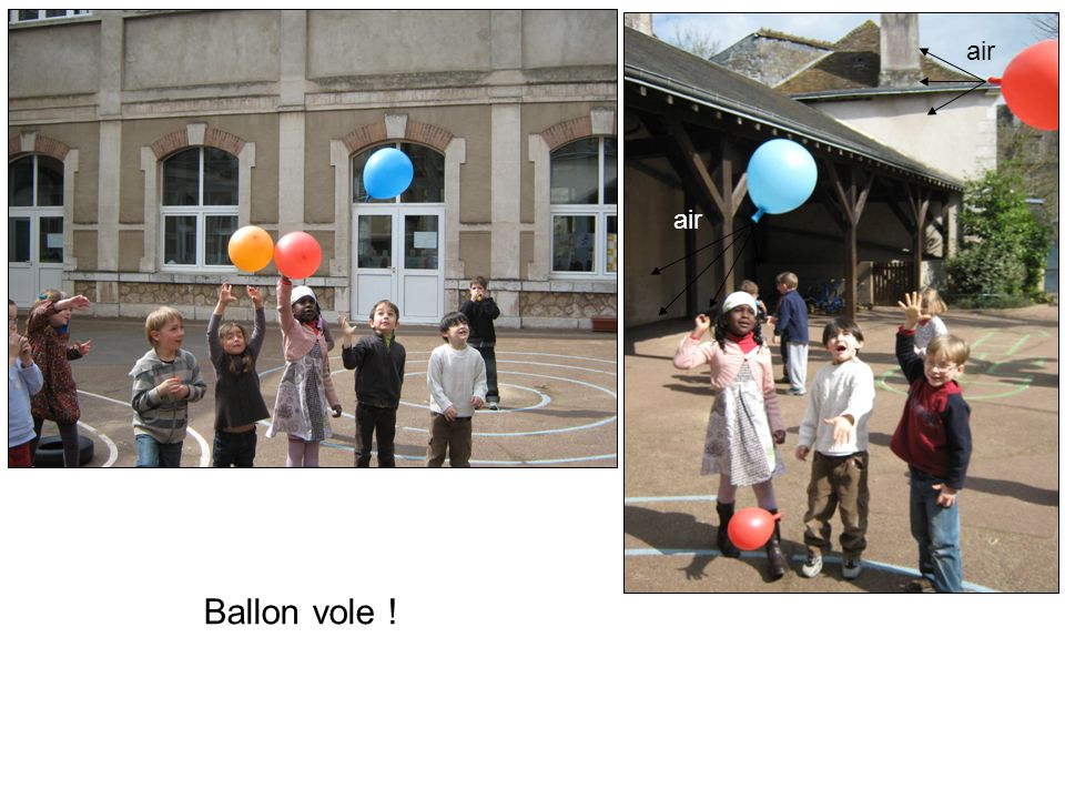 Ballon vole ! air