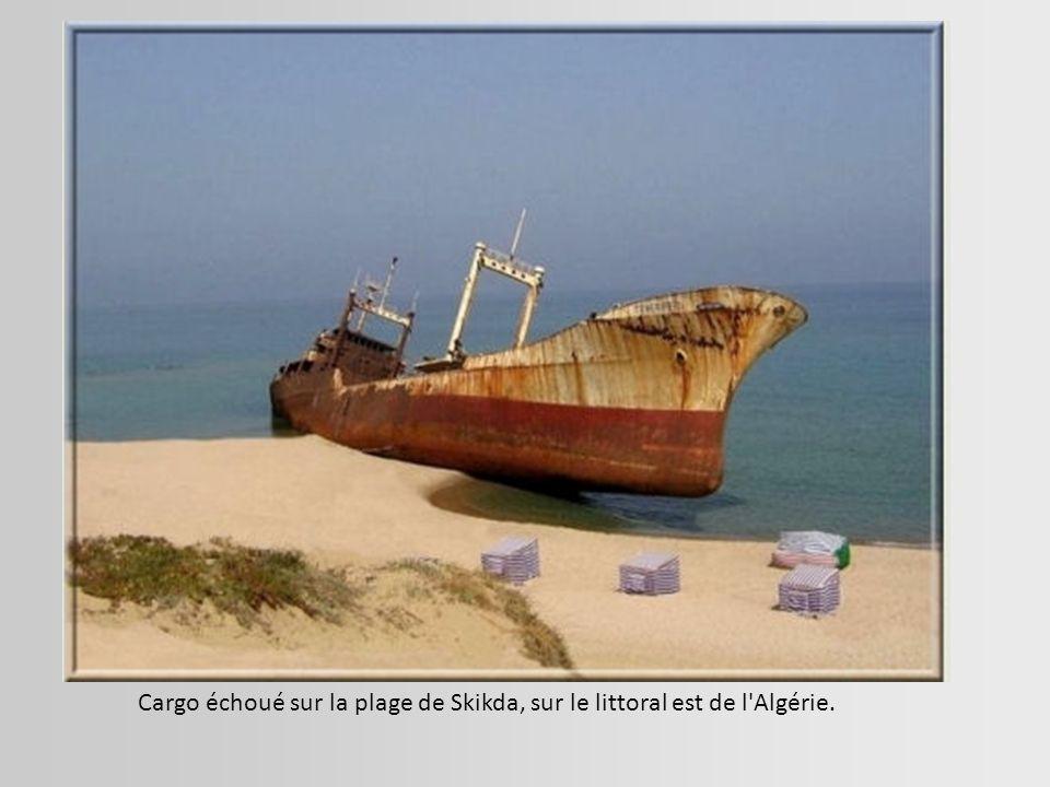 Une épave russe en mer Rouge. Sharm el Sheikh, Egypte.