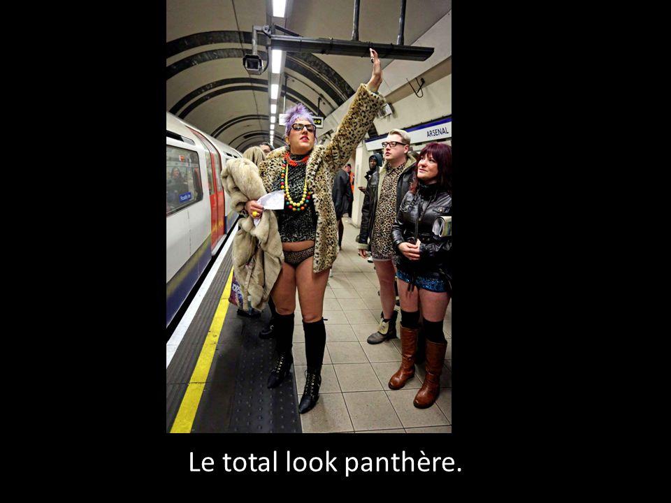 Le total look panthère.