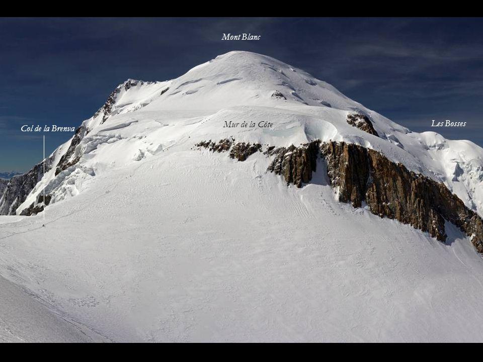 Le Mont Blanc depuis le Mont Maudit