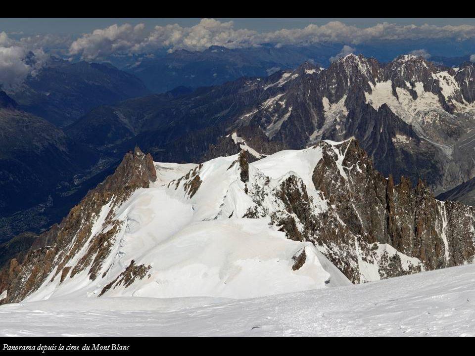 Mont Blanc Mur de la Côte Col de la Brenva Les Bosses