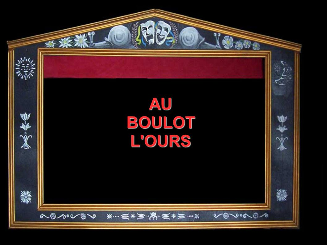 AU BOULOT L'OURS