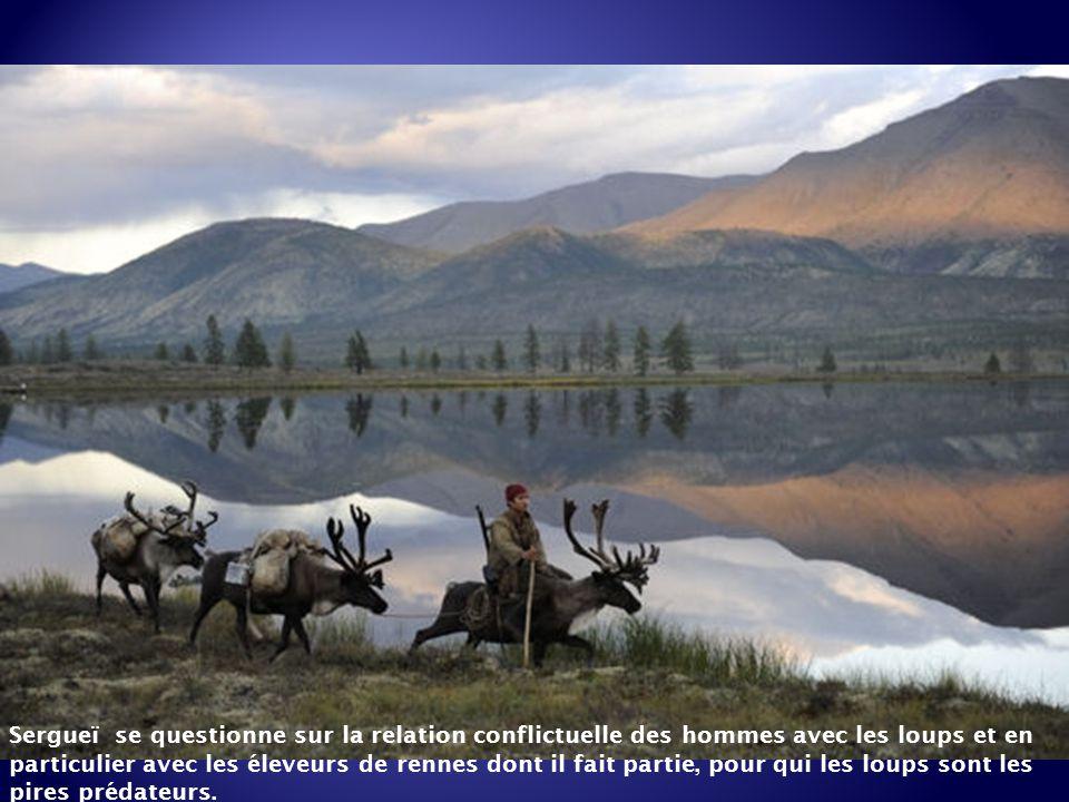 Sergueï est un Évène. Ces nomades éleveurs de rennes qui vivent dans les montagnes de Sibérie orientale. A l'âge de 16 ans, Sergueï est nommé gardien
