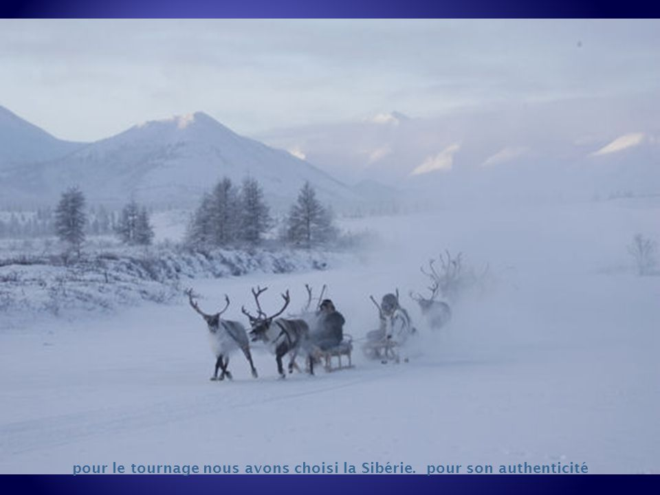 C'est lors d'une expédition en Sibérie en 1990, que Nicolas Vanier a fait la connaissance des Evènes et a vécu avec eux pendant près d'un an. Il a par