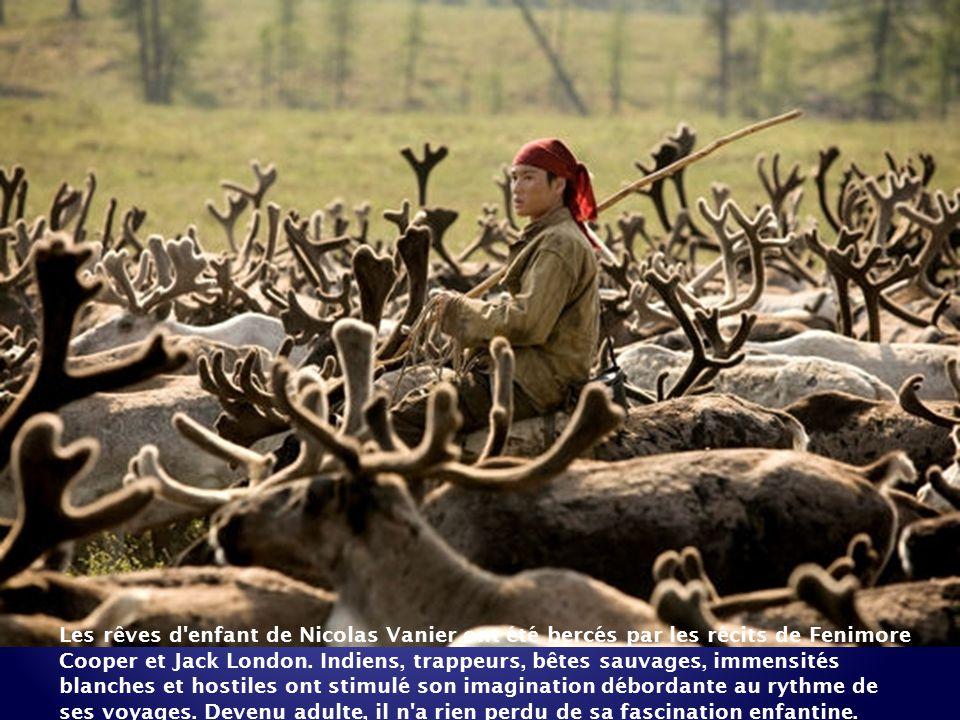 Pendant près de 25 ans, Nicolas Vanier, explorateur et aventurier, a arpenté les espaces sauvages des territoires du Grand Nord. De ses périples, sont