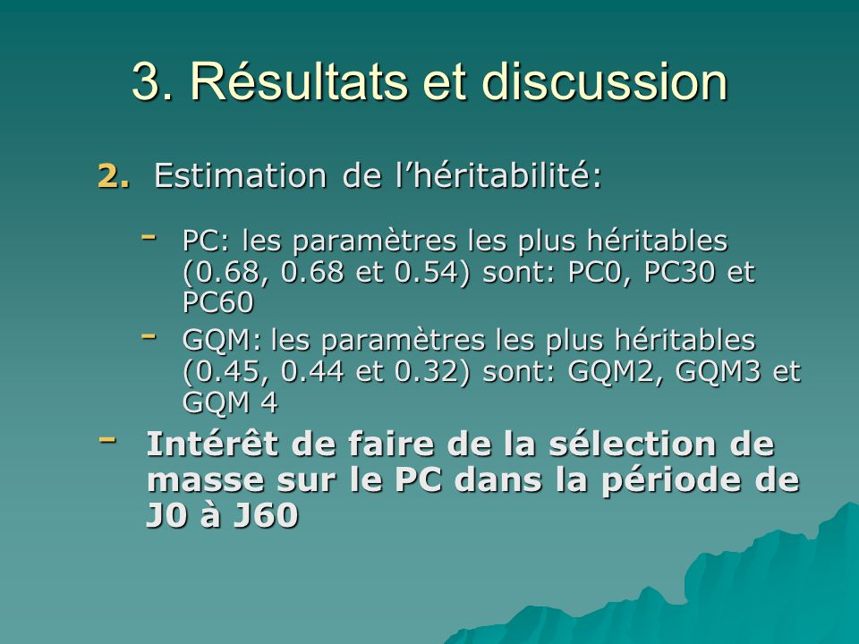 3. Résultats et discussion 2.