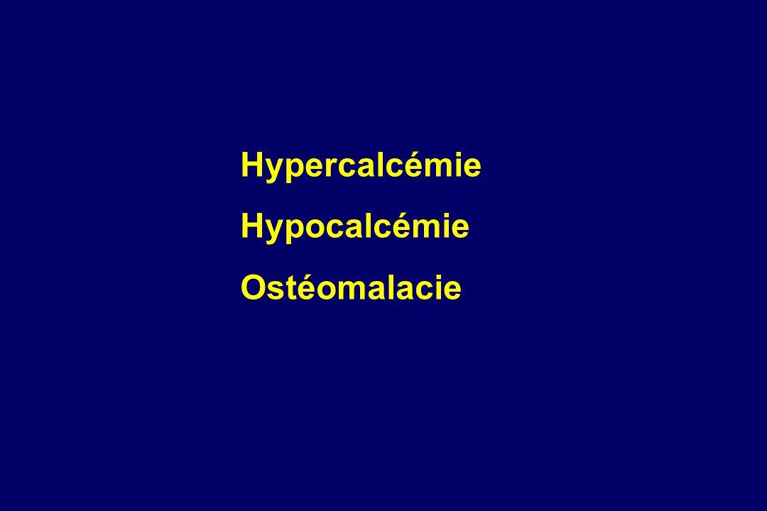---- Furosémide ---- Hypoparathyroïdie primitive ou chirurgicale.