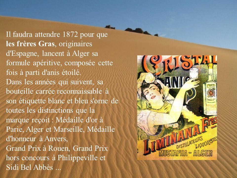 Ce sont les émigrants maltais, venus coloniser l Algérie, qui les premiers, vers 1835, distillent cette liqueur à base de fenouil sauvage.