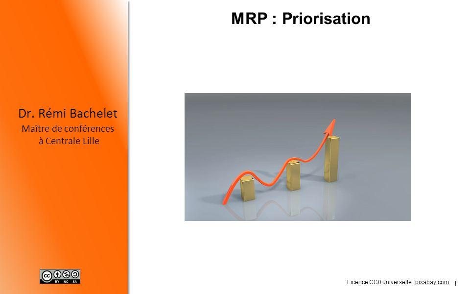 2 Criticité Principe de Pareto Mise en œuvre Dr.