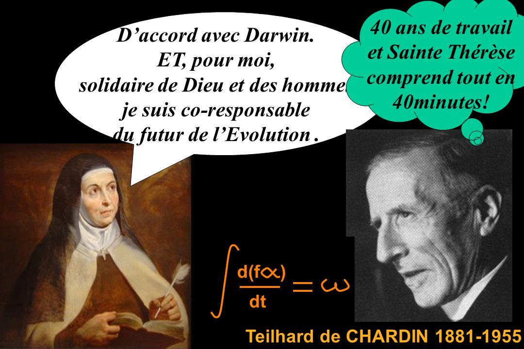Dans ma théorie de lévolution il ny a pas de direction privilégiée ! Et elle est moralement neutre On retrouve le principe de parcimonie.