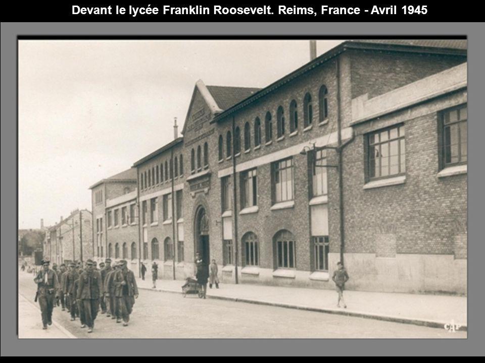 Plage d'Aix-Les-Bains, France - Janvier 1935