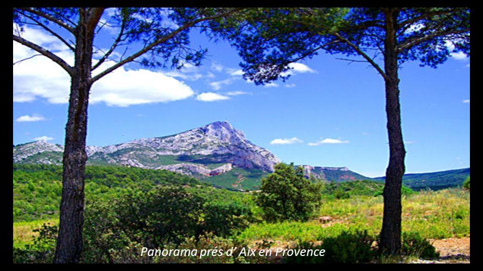 Panorama prés d Aix en Provence