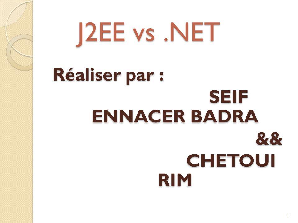 J2EE vs.NET 1