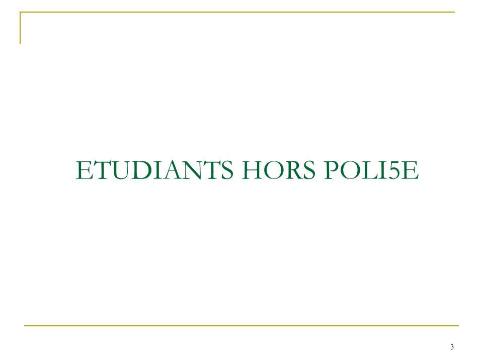 ETUDIANTS HORS POLI5E 3