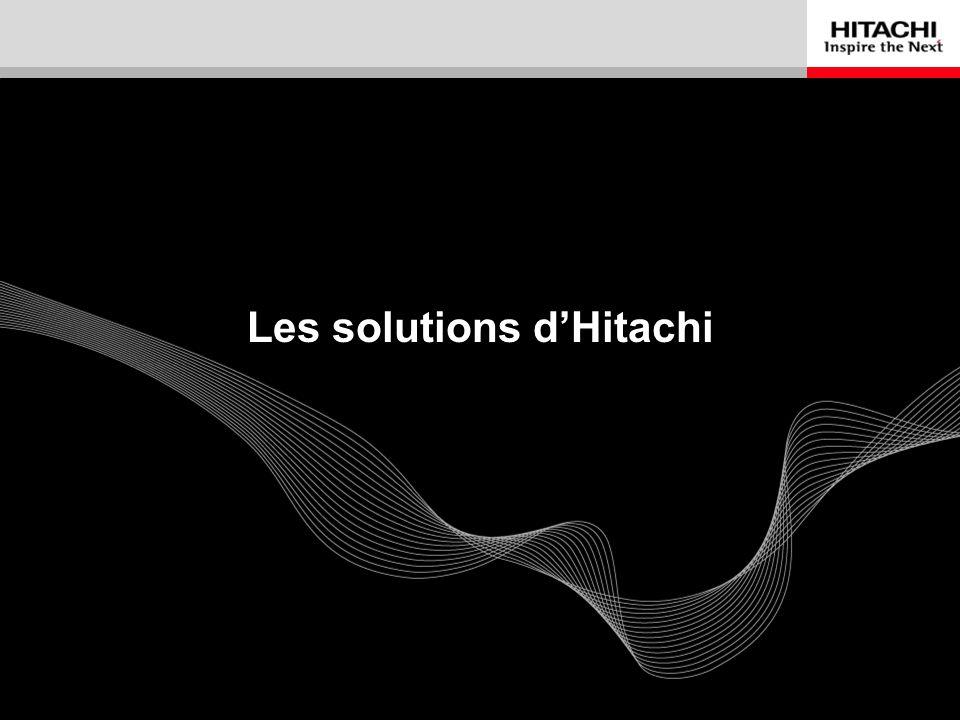 9 Les solutions dHitachi