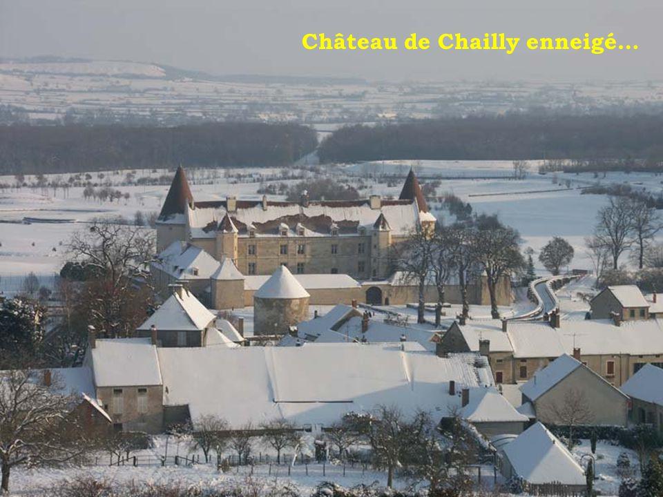 Château de Chailly-sur-Armançon (près de chez nous) Construit vers 1550 et remanié au 17e siècle.