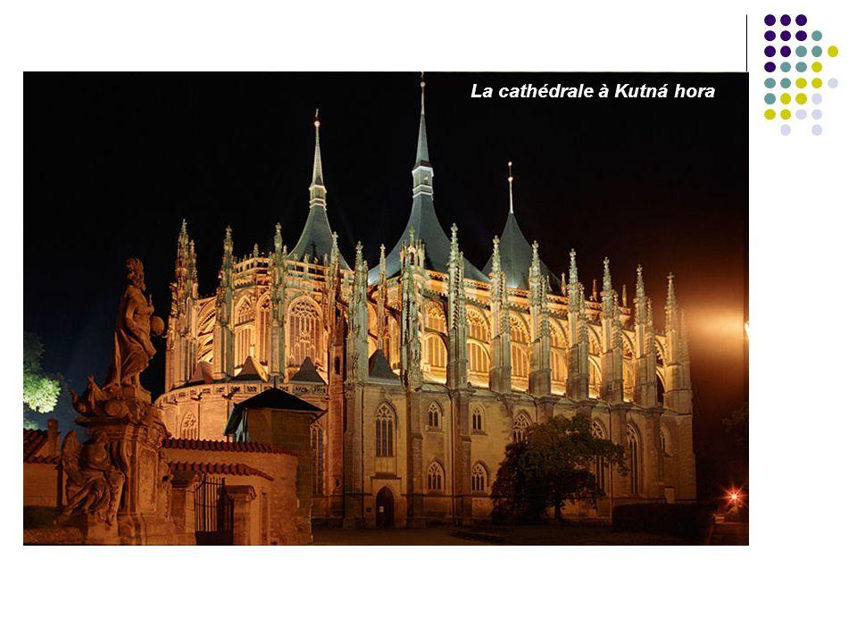La cathédrale à Kutná hora