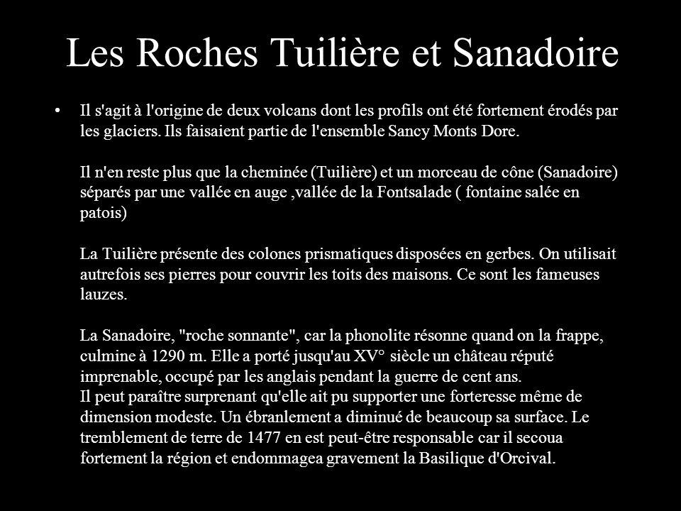 Roches Tuilières et Sanadoire